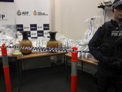 585 кг наркотиков задержали в Австралии