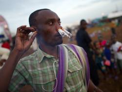 Курение не в затяг