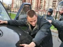 В Ульяновске пьяный мужчина задержан за угон автомобиля